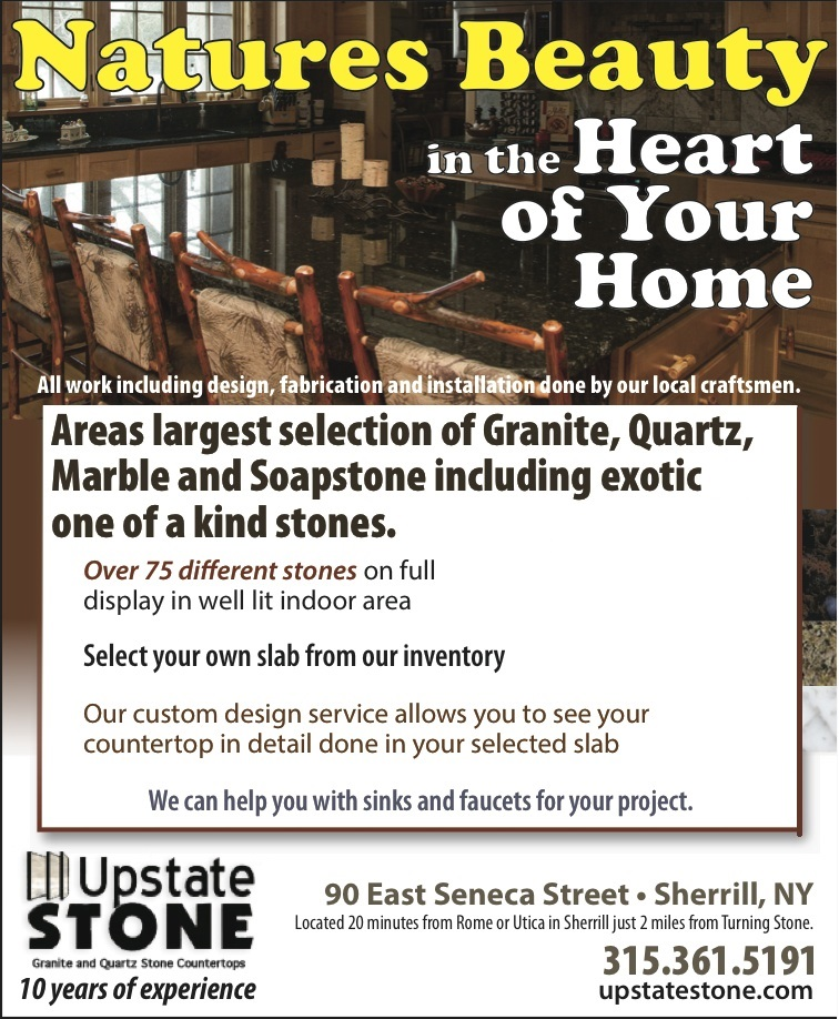 Welcome to Upstate Stone in Upstate New York!